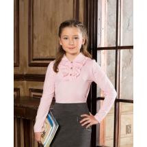 """Блузка для девочек розового цвета """"Хана"""""""