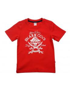 """Футболка красная для мальчиков """"пираты"""""""